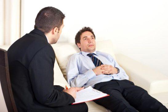 Приём у психолога