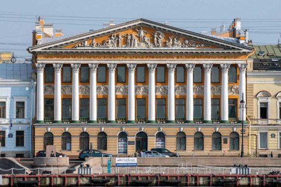 Петербургское здание музея — особняк Румянцева
