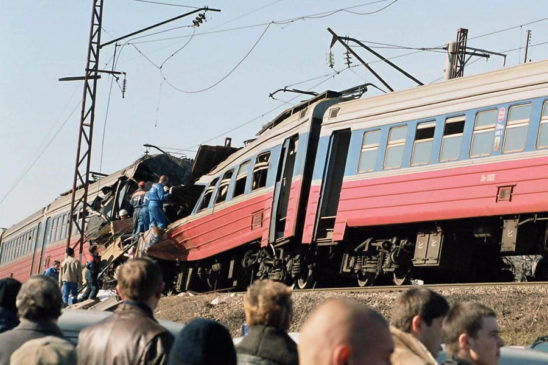 Последствия теракта в электропоезде в Ессентуках