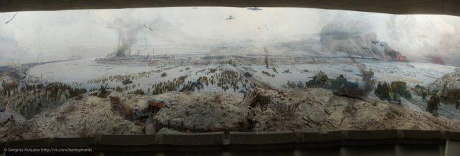 Панорама «Прорыв блокады Ленинграда»