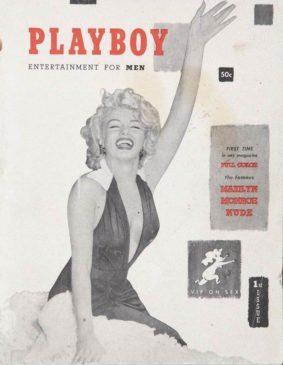 Первый номер журнала «Playboy»