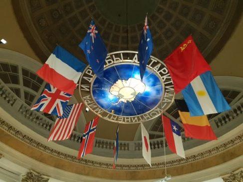 Первоначально Договор об Антарктике подписали 12 государств