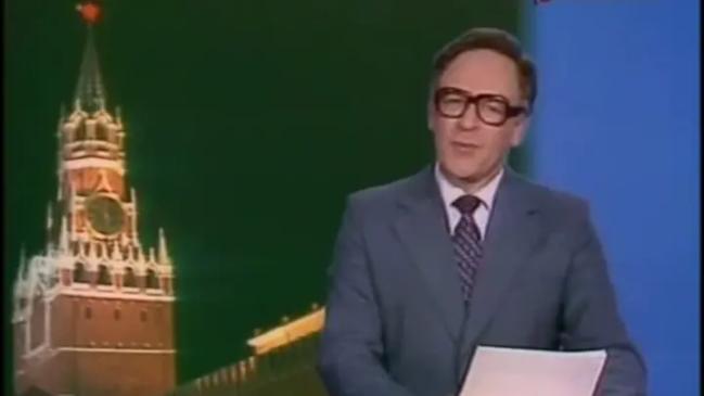 """Игорь Кириллов - один из первых ведущих программы """"Время"""""""