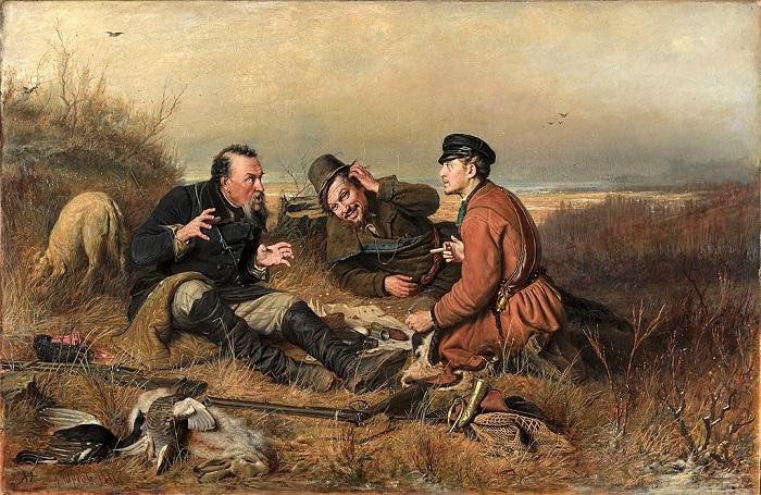 «Охотники на привале» (1871)