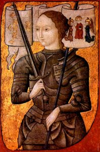 Жанна д'Арк (Миниатюра второй половины 15 века)