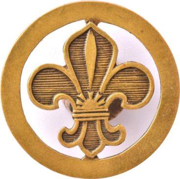 Символ скаутского движения — геральдическая лилия