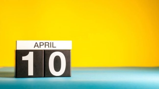 10 апреля