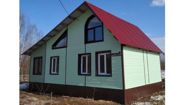Продаю новый дом в п.Кукуштан