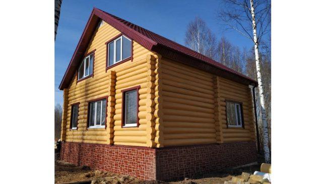 Продам новый дом в п. Кукуштан