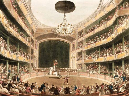 Цирк в Лондоне конец 18 века