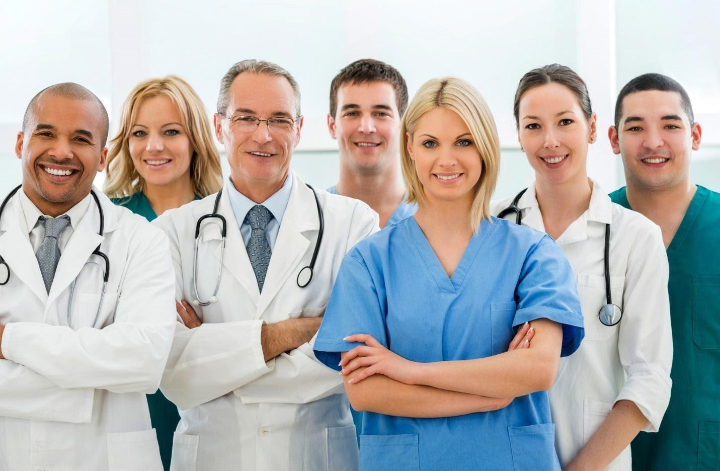 Фото врачей разных специальностей