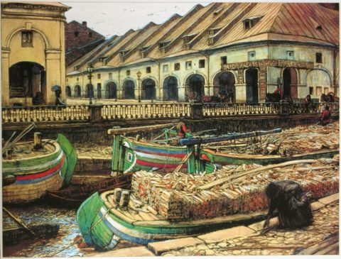 «Никольский рынок в Петербурге»