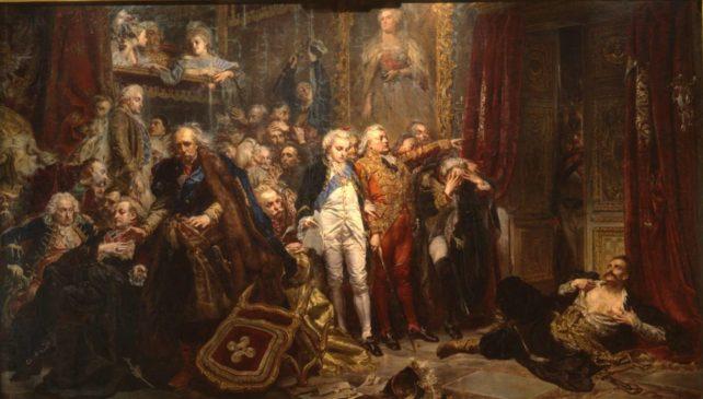 Картина Яна Матейко «Рейтан. Упадок Польши»