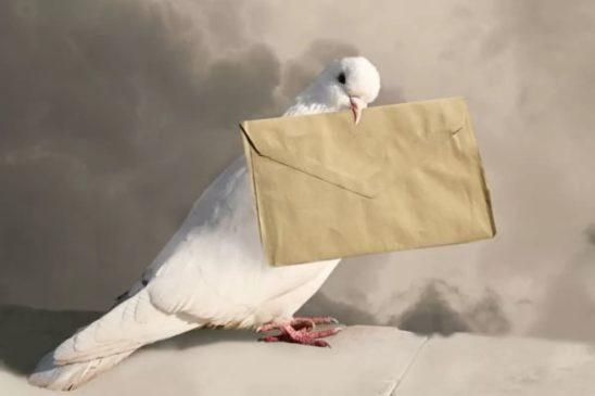 Почта передает мысли, чувства и желания на большие расстояния