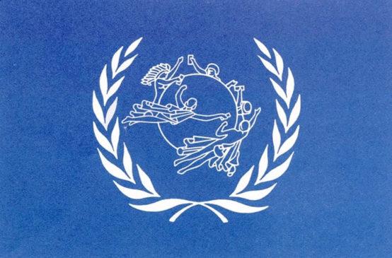 Флаг Всемирного почтового союза
