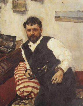 Константин Коровин (Портрет работы Валентина Серова)