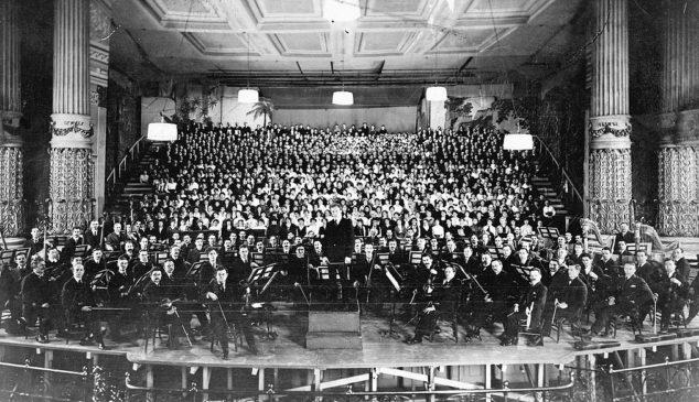 Исполнение «Симфонии тысячи» Малера в Америке в 1916 году Л.Стоковским с 1068 музыкантами