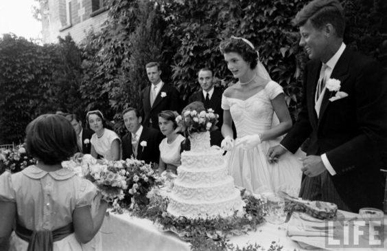 Свадьба Жаклин Ли Бувье и Джона Кеннеди
