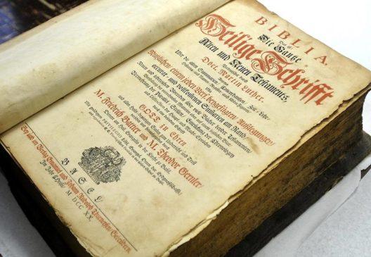 Первый полный перевод Немецкой Библии Мартина Лютера 1534 года