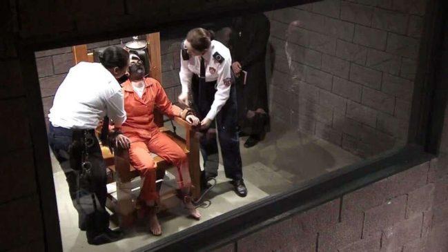 Смертная казнь на электрическом стуле