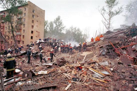 Взрыв жилого дома на Каширском шоссе