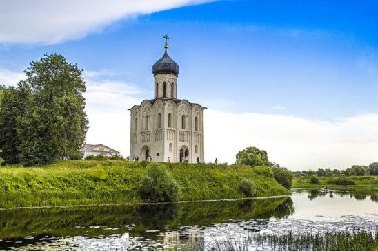 Храм Покрова на Нерли – одна из «визитных карточек» России