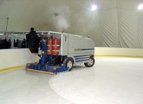 машина для очистки льда