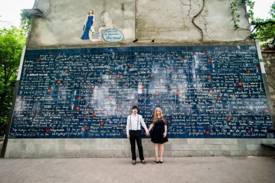 «Стена любви» — достопримечательность нового времени в Париже