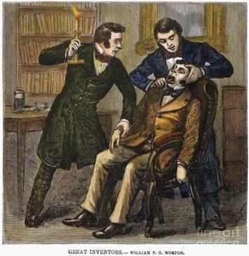 16 октября 1846 года была проведена первая анестезия