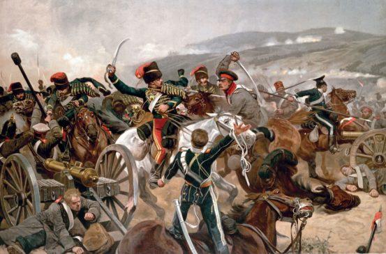 Картина Ричарда Кейтона Вудвиля «Балаклавское сражение»