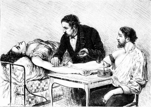Переливанию крови от человека к человеку