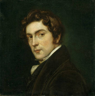Карл Йозеф Бегас (Автопортрет, 1826)