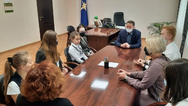 Швецов А.М. встретился со школьниками