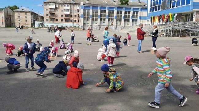 Дошколята отметили День защиты детей