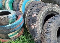 С заботой об экологии: с территории детского сада ликвидировали все автомобильные покрышки